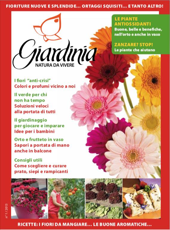 Giardinia Magazine - Primavera 2013